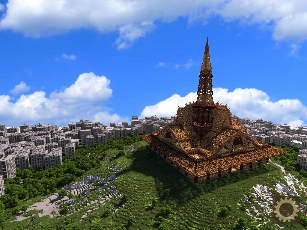TempleCraft: a digital Temple made in Minecraft