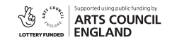 Supported using public funding by Arts Council England - logo