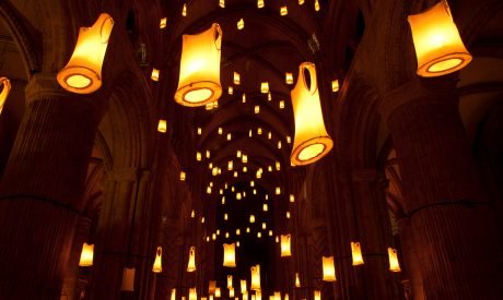 SPIRIT, Compagnie Carabosse, LUMIERE 2011, produced by Artichoke in Durham. Photo Matthew Andrews