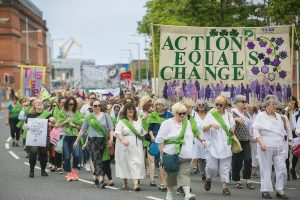 PROCESSIONS 2018 Belfast, an Artichoke Project Commissioned by 14-18 NOW, photo by Brian Morrison