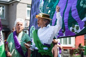 PROCESSIONS 2018 Cardiff, an Artichoke project Commissioned by 14-18 Now. Photo by Polly Thomas