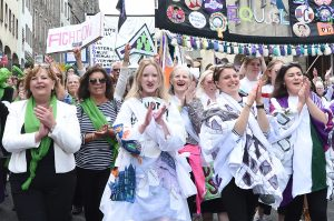 PROCESSIONS 2018 Edinburgh, an Artichoke Project Commissioned by 14-18 NOW. Photo by Lesley Martin.