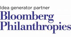 Idea generator partner Bloomberg Philanthropies logo
