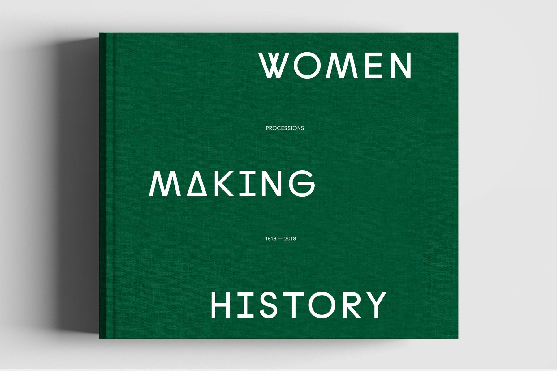 Front cover of green Women Making History book