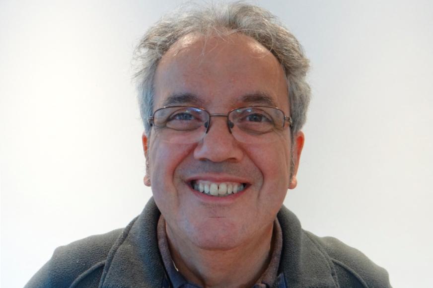 Portrait of John Del'Nero smiling